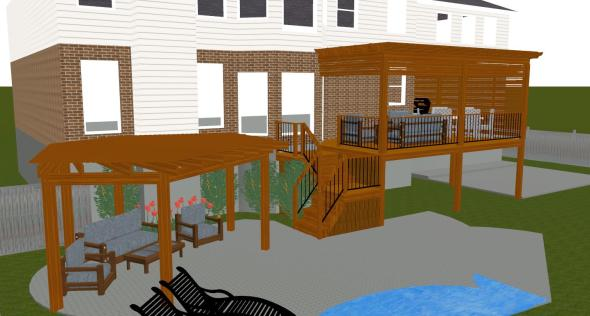 Deck project design plan