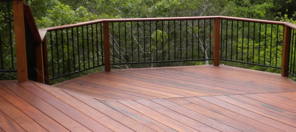 Tigerwood deck Austin TX