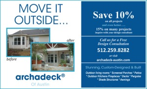 Special Offer from Archadeck of Austin