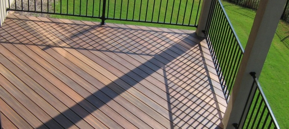 Archadeck of Austin re-decking in Leander, TX with TimberTech Twin Finish