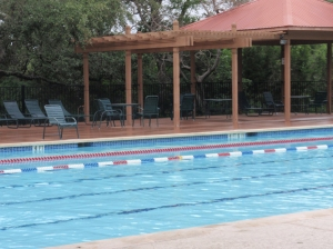 New pool deck for Steiner Ranch by Archadeck of Austin