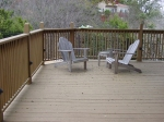 Deck in River Place, TX prior ro the re-decking