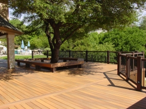 Composite redecking by Archadeck of Austin