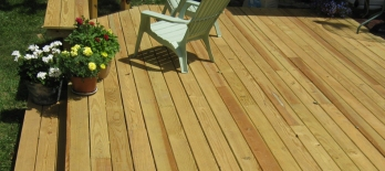 Pressure treated deck Austin TX