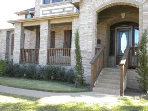 Home in Circle C Ranch before the new entrance was added by Archadeck of Austin.