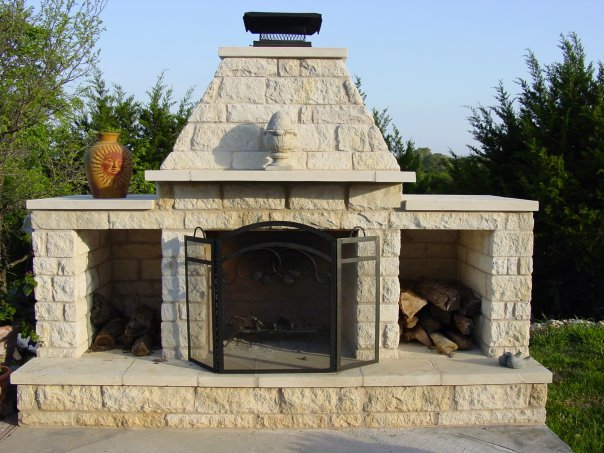 Outdoor Fire pit expert Austin TX | Austin Decks, Pergolas ...
