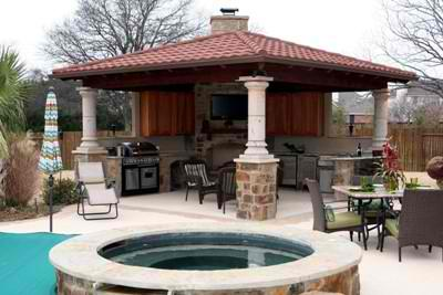 Outdoor Kitchens – Outdoor Covered Kitchens