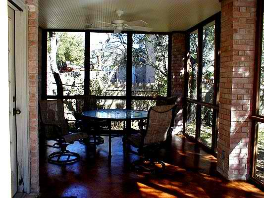 Austin screened porches
