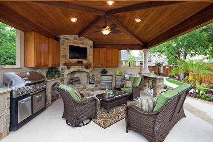 Austin Cabana interiors