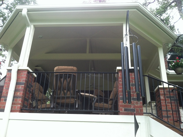 Archadeck of Austin octagonal covered patios