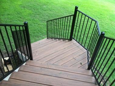 Austin custom iron railings