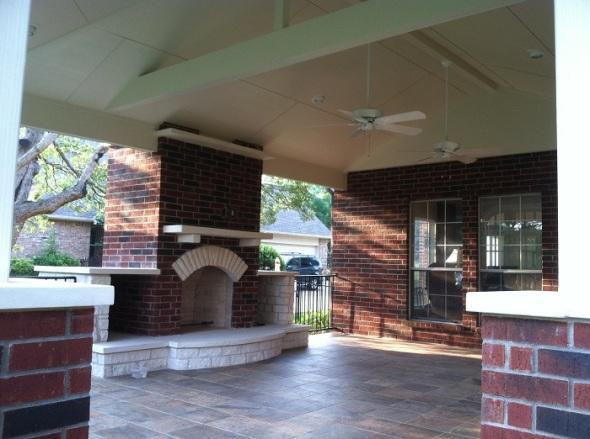 Austin Texas covered patios
