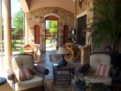 Covered patio in Cedar Park, TX