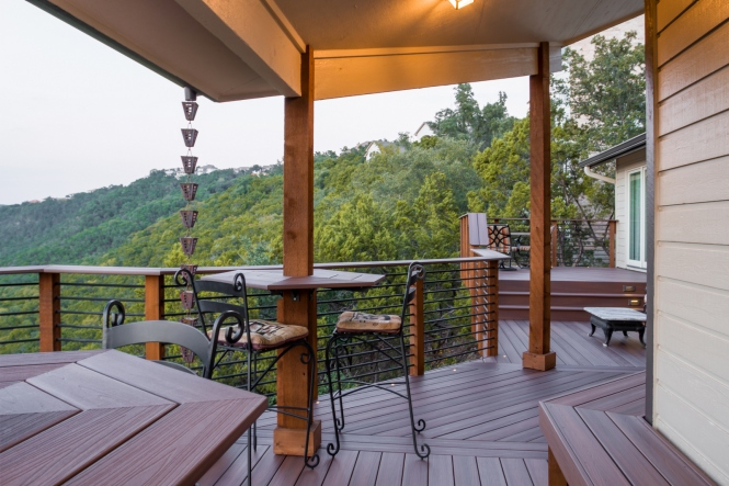 Austin TX custom deck and porch designs