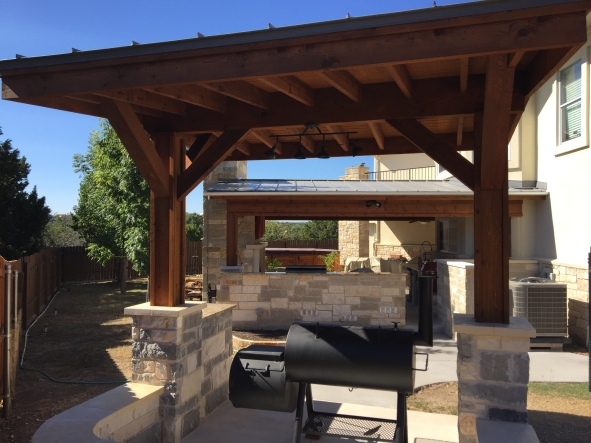 Completed project in Lago Vista, TX.