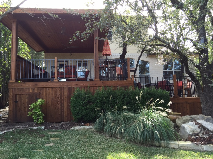 Austin TX Cedar porch and deck builder