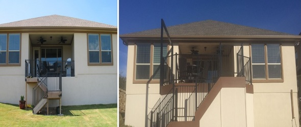 Leander TX before and after