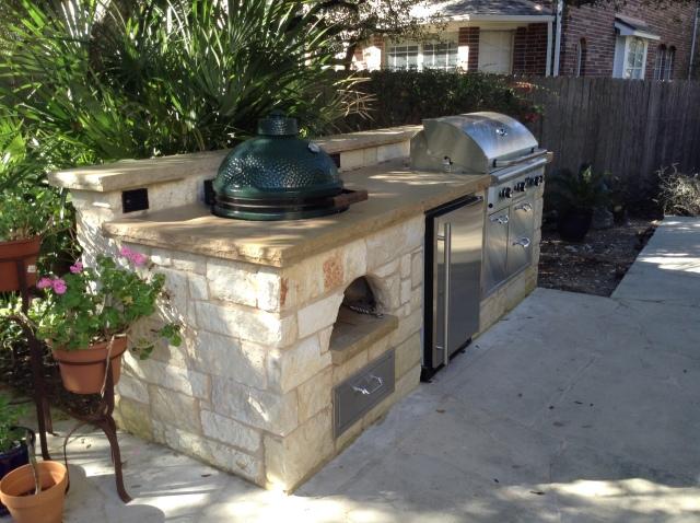 austin outdoor kitchens | austin decks, pergolas, covered patios