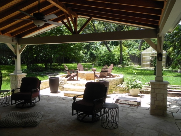 South Austin Covered Patio Builder