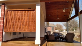 Brushy Creek TX privacy screen