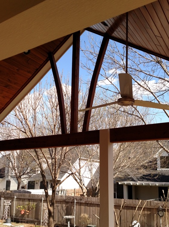 Brushy Creek TX patio cover builder