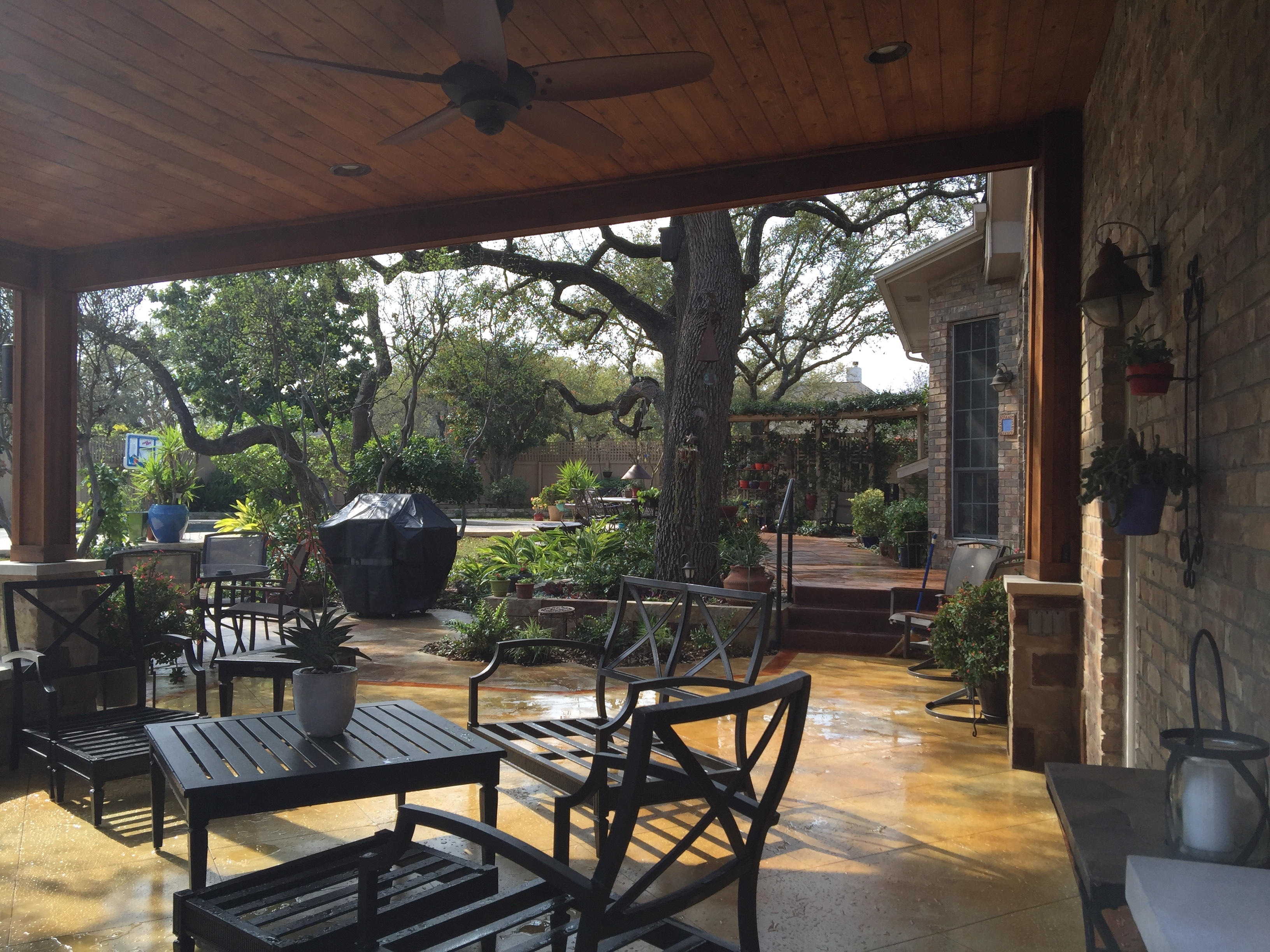 Circle C Ranch Covered Porch Builder South Austin