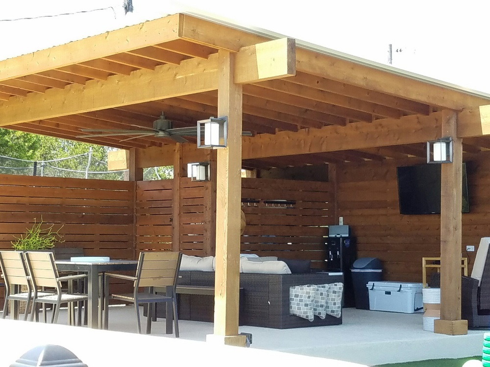 bee cave tx contemporary pergola austin decks pergolas. Black Bedroom Furniture Sets. Home Design Ideas