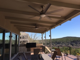Lost Creek Covered Deck Addtion and Extension in Southwest Austin