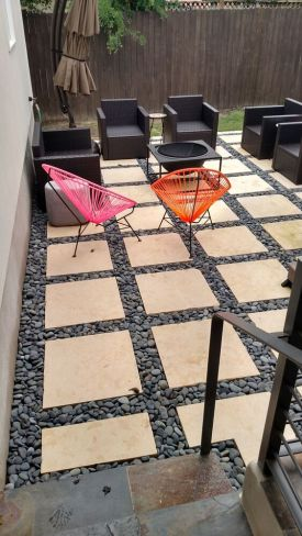 Permeable patio builder South Austin TX