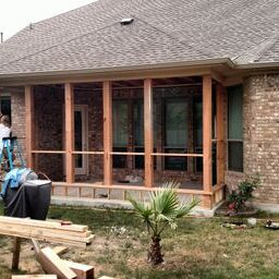 During project in Brushy Creek, TX.
