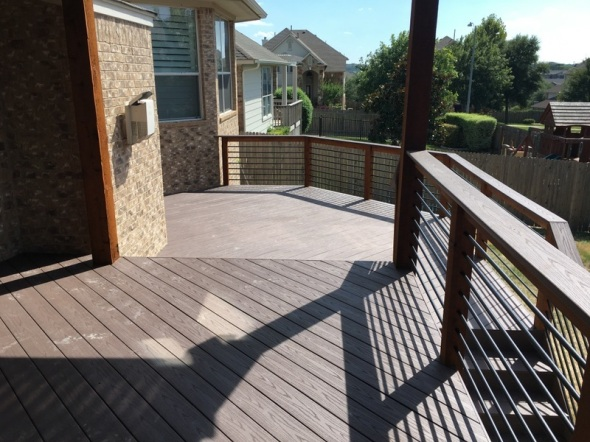 Austin AZEK deck builder