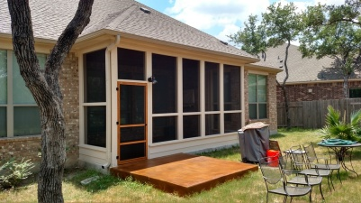 Austin Screened Porch Builder