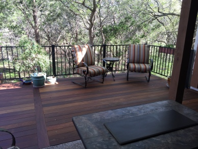 Brushy Creek TX Ipe deck builder