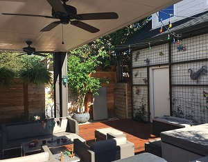 East Austin Unique Outdoor Living Designs