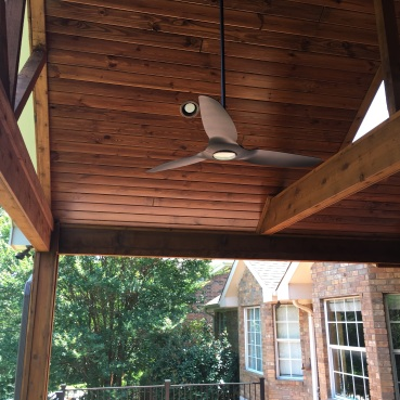 Austin covered porch interior