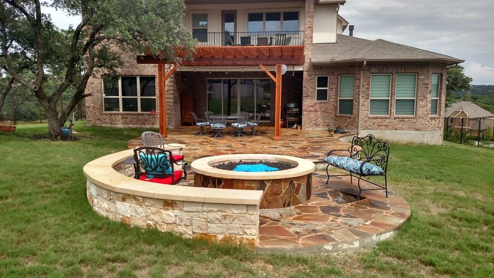 Austin Flagstone Patio Builder