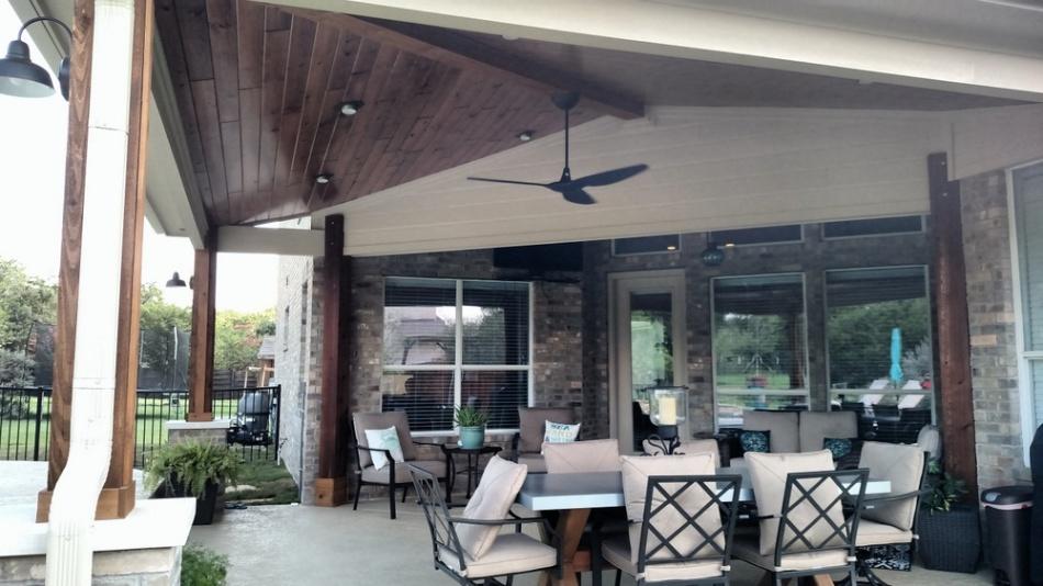 Austin Poolside Porch Builder