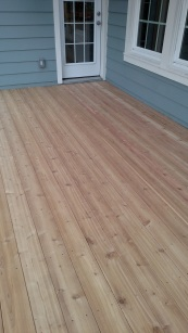 Austin Clear Cedar Deck Flooring