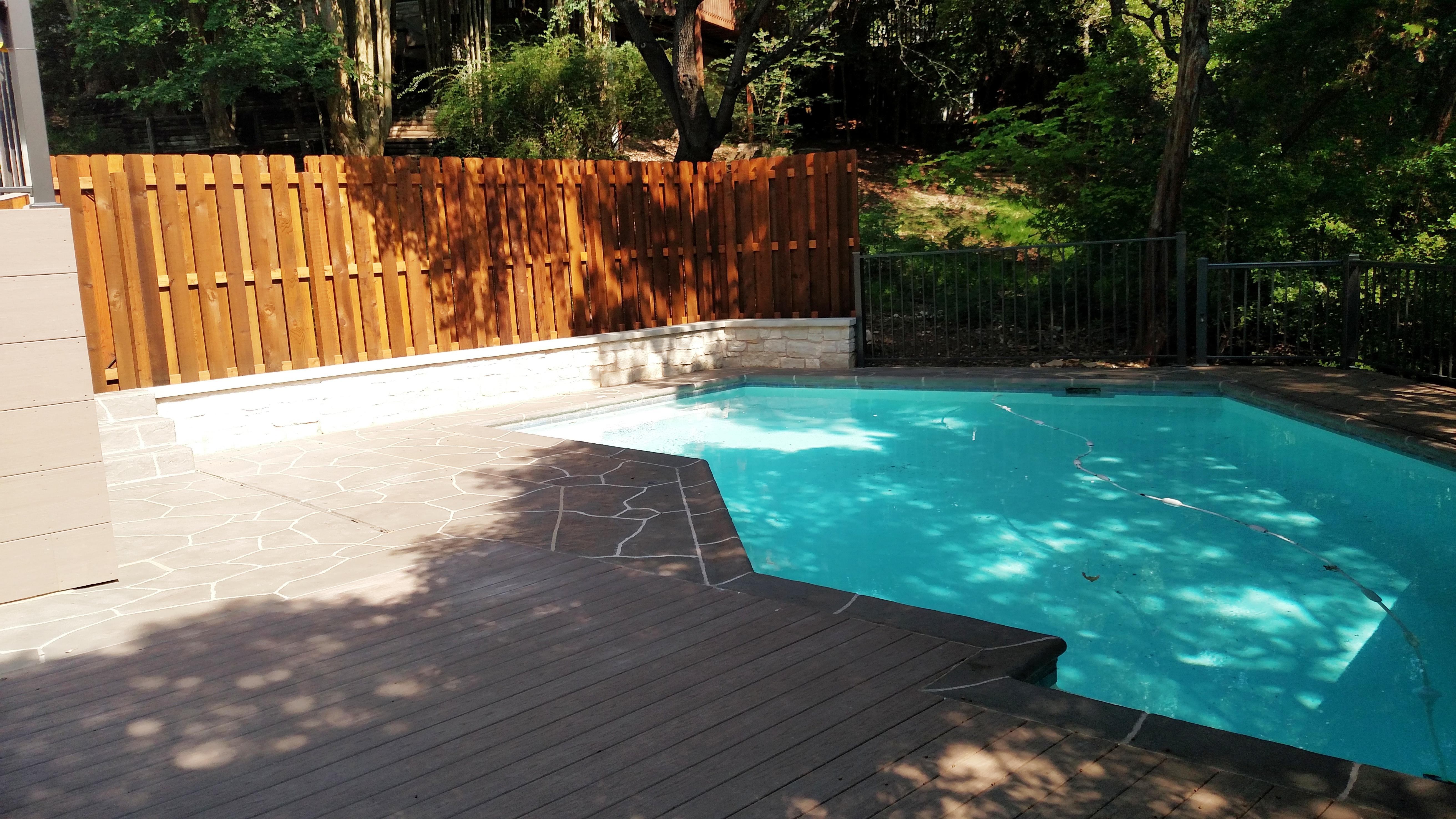 Multi-structure outdoor living areas   Austin Decks, Pergolas ...