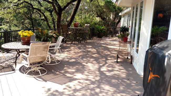 Austin poolside patio and deck builders