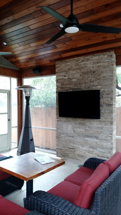 Northwest Austin Screened Rooms
