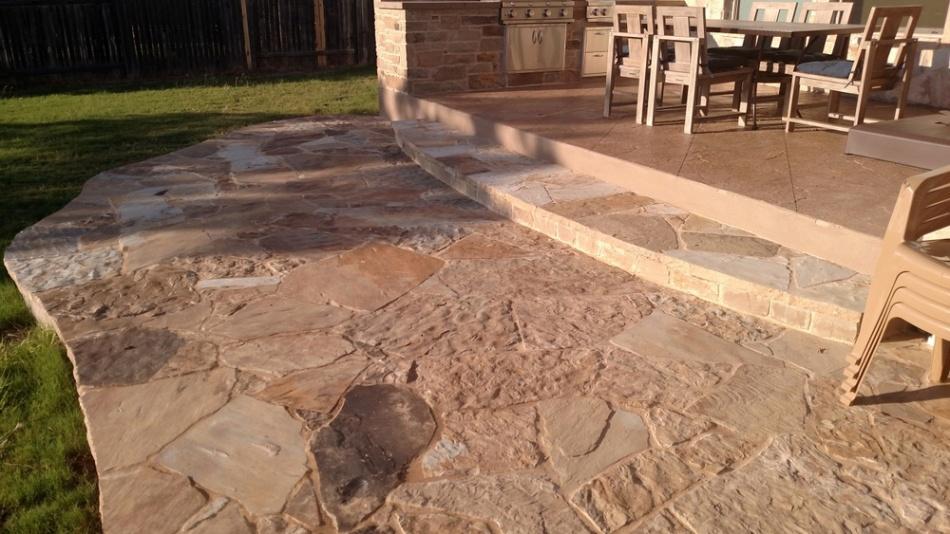 Steiner Ranch Stone Patio
