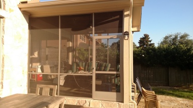 Steiner Ranch Screened Porch