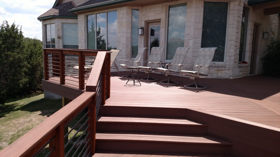 Archadeck of Austin redecking project in Hudson Bend TX
