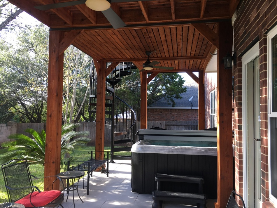 Steiner Ranch Deck and Pergola