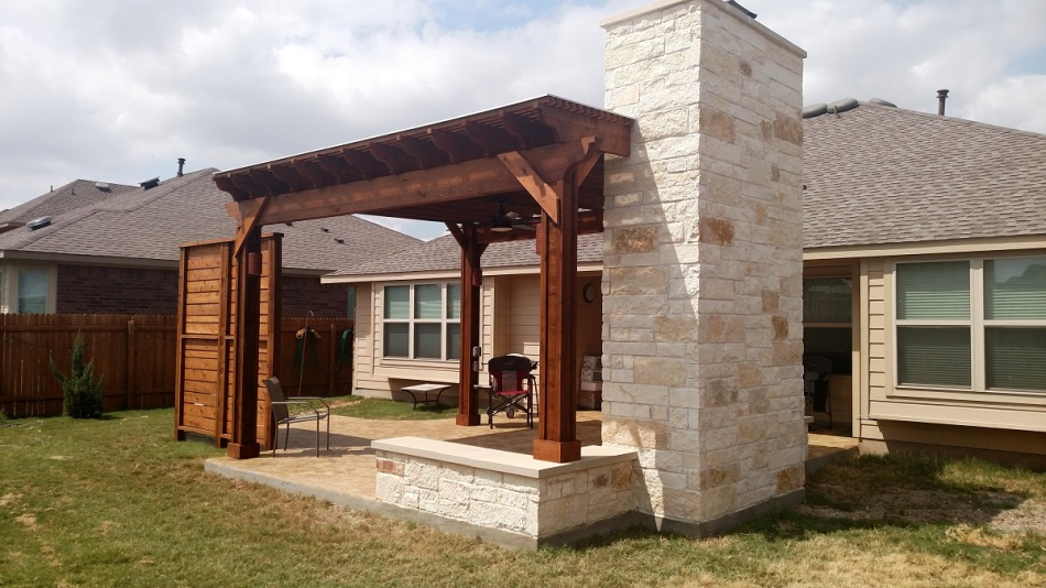 Austin covered patios