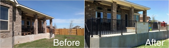 Before and After in Round Rock TX