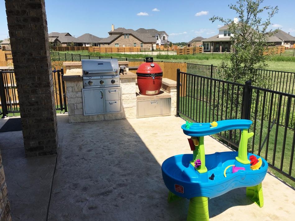 Round Rock TX Outdoor Kitchen Builder