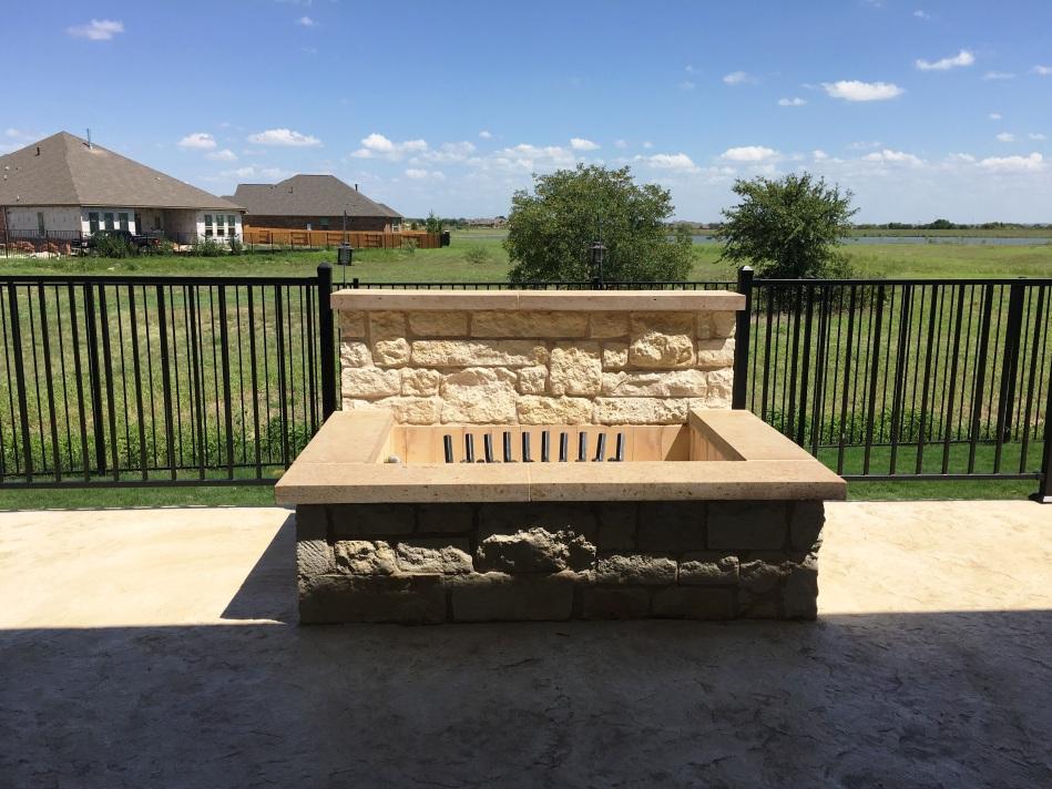 Round Rock TX Fire Pit Builder