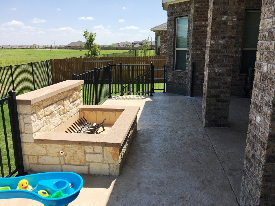 Round Rock TX patio builder